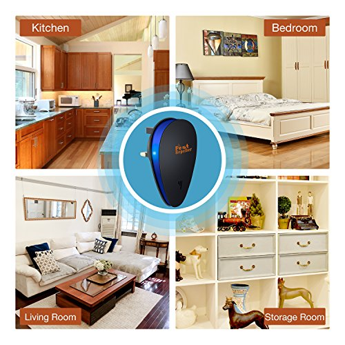 Ultrasonic Pest Repeller, ESEOE Electronic Plug in Insect Repell 2018 Upgraded
