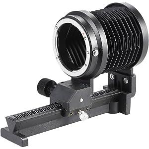 Pixtic - Fuelle Macro para cámaras réflex Nikon D60 D80 D90 D3100 ...