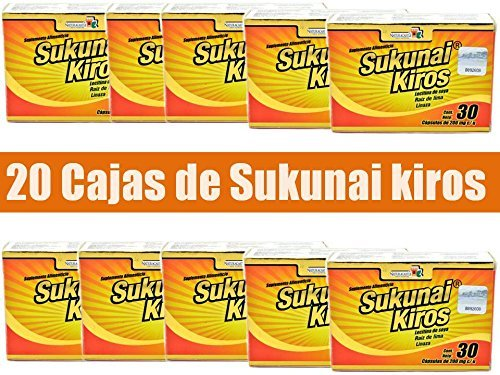 20 Boxes Sukunai Kiros Naturacastle the Original From Mexico Weight Management