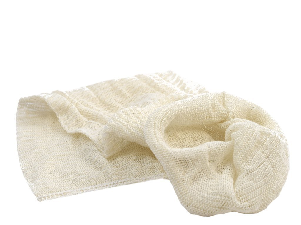 Muslin Bags (Pack of 10) for Straining Filtering Wine Beer Jam Marmalade Home Brew and Boiling Hops Harris Filters