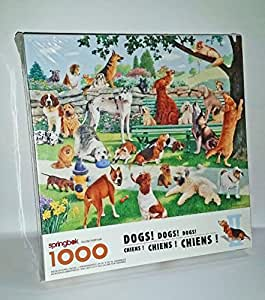 "Amazon.com: Springbok ""DOGS! DOGS! DOGS!"" 1000 Piece"