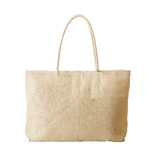 6a059e0a9468 Donalworld Women Summer Beach Bag Straw Casual Tote Bags Weave Handbag