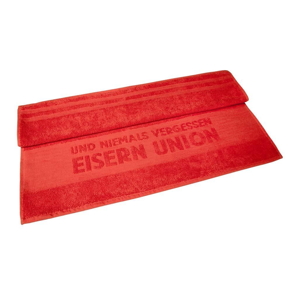 1 FC UNION Berlin Bath Towel 70 cm x 140 cm Red