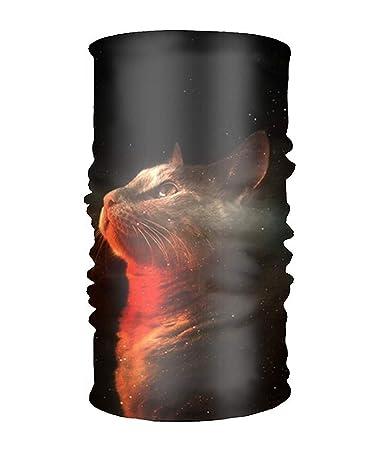Amazon.com  Headwear Magic Scarf Nebula Kitten Balaclava Bandana b898fe1768