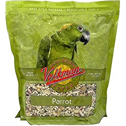 Volkman Avian Science Super Parrot Bird Food Seed Mix (8 LB)