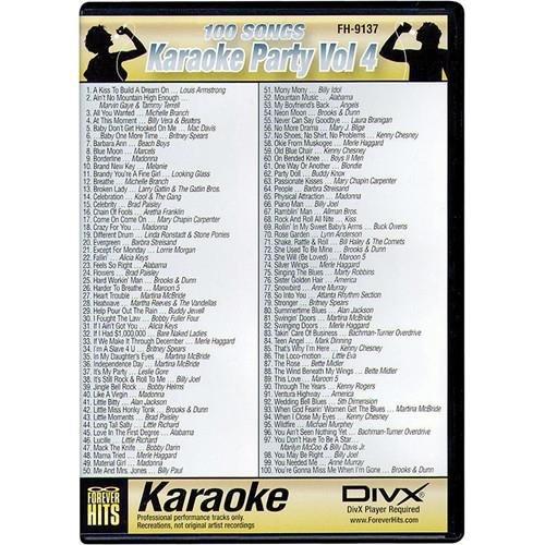 VocoPro PARTY DVD VOL4 (FH9137)