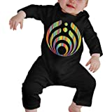 Bassnectars Symbol Hologram Colorful Rainbow Baby Onesie Organic Long-Sleeve Bodysuit