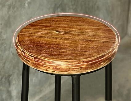 Elegence z sgabello sgabello in ferro di legno sedia da bar home