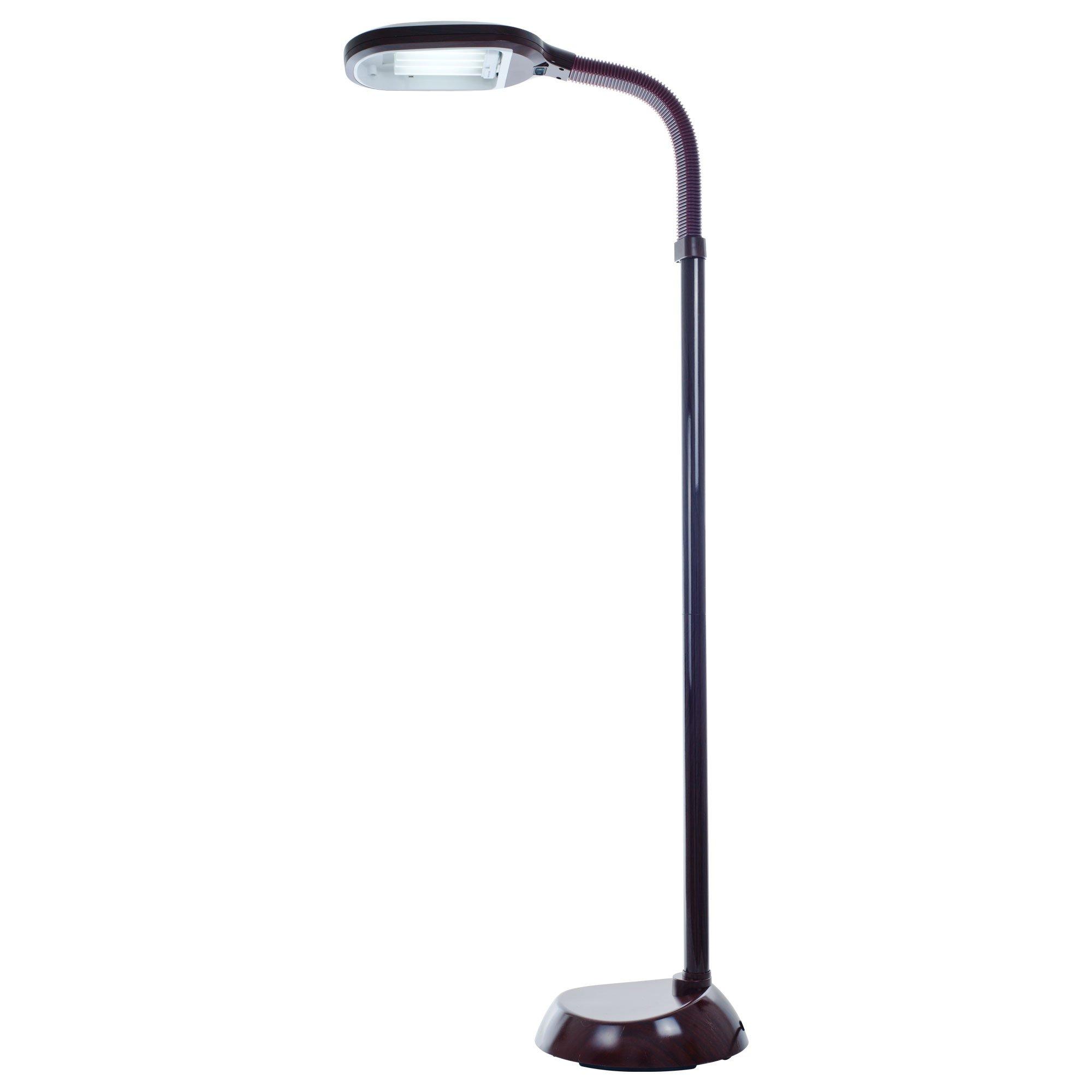Bedford Home 72A-1438 Sunlight Floor Lamp 5 Feet, Wood Grain