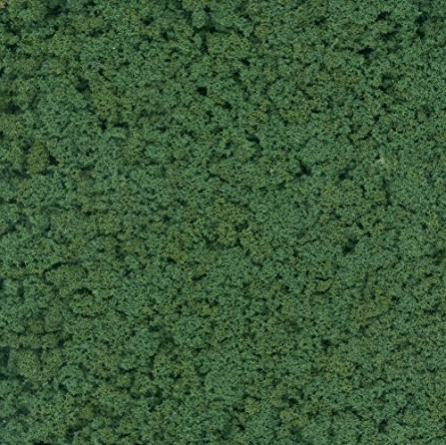 Dollhouse Miniature Fine Foliage/Turf Evergreen Mix (25gm) by Model Builders ()