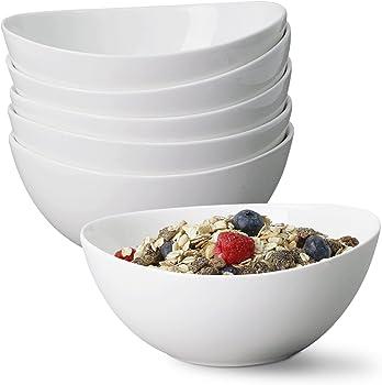 6-Set Porcelain Cute Ceramic Bowls Set