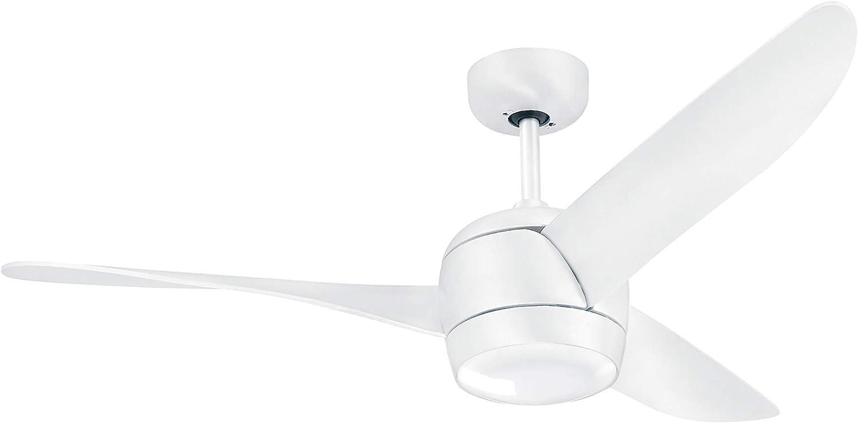 Ventilador de techo con motor DC silencioso y control remoto.: Amazon.es: Iluminación