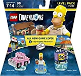 The Simpsons Homer Level Pack + Ghostbusters Peter Venkman Level Pack + Portal 2 Level Pack - Lego Dimensions (Non Machine Specific)