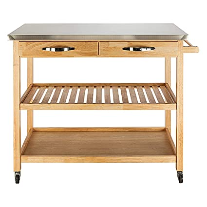 Amazon.com - Henf Kitchen Trolley Cart, Modern Rolling ...
