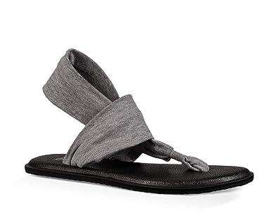Amazon.com | Sanuk Yoga Sling Bling Sandal & Cooling Towel ...
