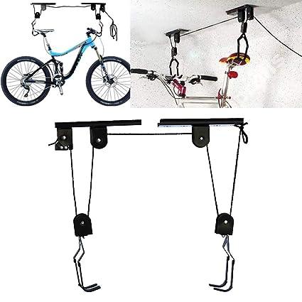 Quemu Co.,Ltd. Soporte de Pared para Bicicleta, con polea de elevación