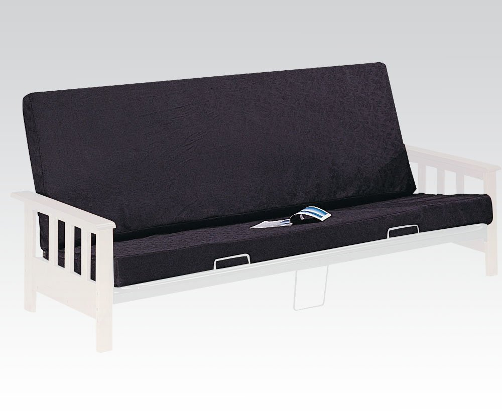ACME 02808 8-Inch Futon Mattress, Full, Black/Black Acme Furniture