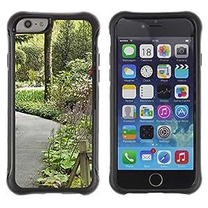 "Hypernova Defender Series TPU protection Cas Case Coque pour Apple Iphone 6 [Planta Naturaleza Forrest Flor 106""]"