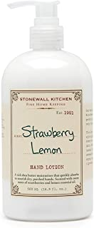 product image for Stonewall Kitchen Strawberry Lemon Hand Lotion, 16.9 Ounce