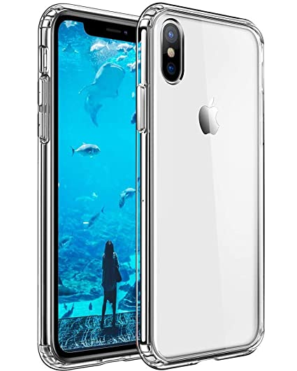 size 40 aed9d efd23 Mkeke Compatible with iPhone Xs Max Case, Clear Anti-Scratch Shock  Absorption Cover Case iPhone X Max Case