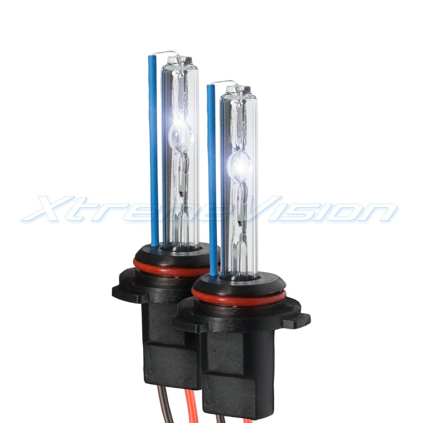 XtremeVision HID Xenon Replacement Bulbs - 9006 4300K - Bright White (1 Pair) - 2 Year Warranty