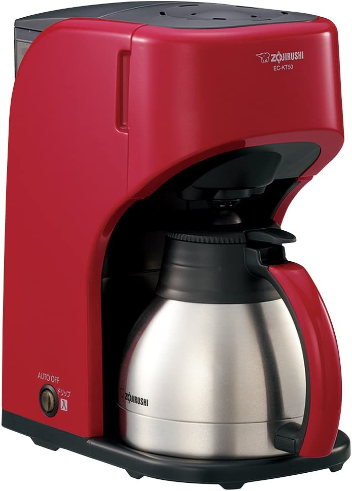 ZOJIRUSHI stainless server coffee maker for five cups EC-KT50-RA