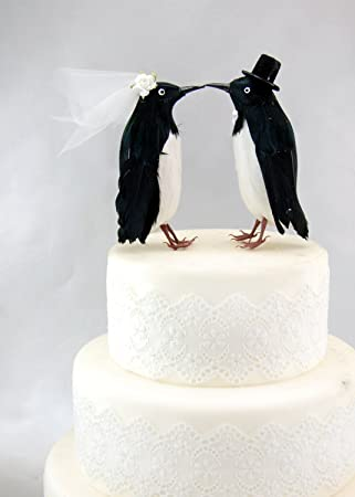 Amazon.com: Fancy Penguin Cake Topper: \