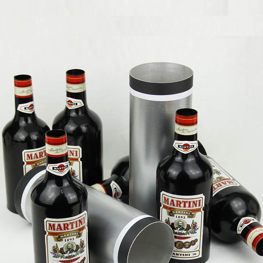 Enjoyer Multiplying Bottles/Moving Increasing Black Bottles Magic Tricks Props Stage Magician Illusion (10 Bottles,Poured Liquid) by Enjoyer (Image #5)