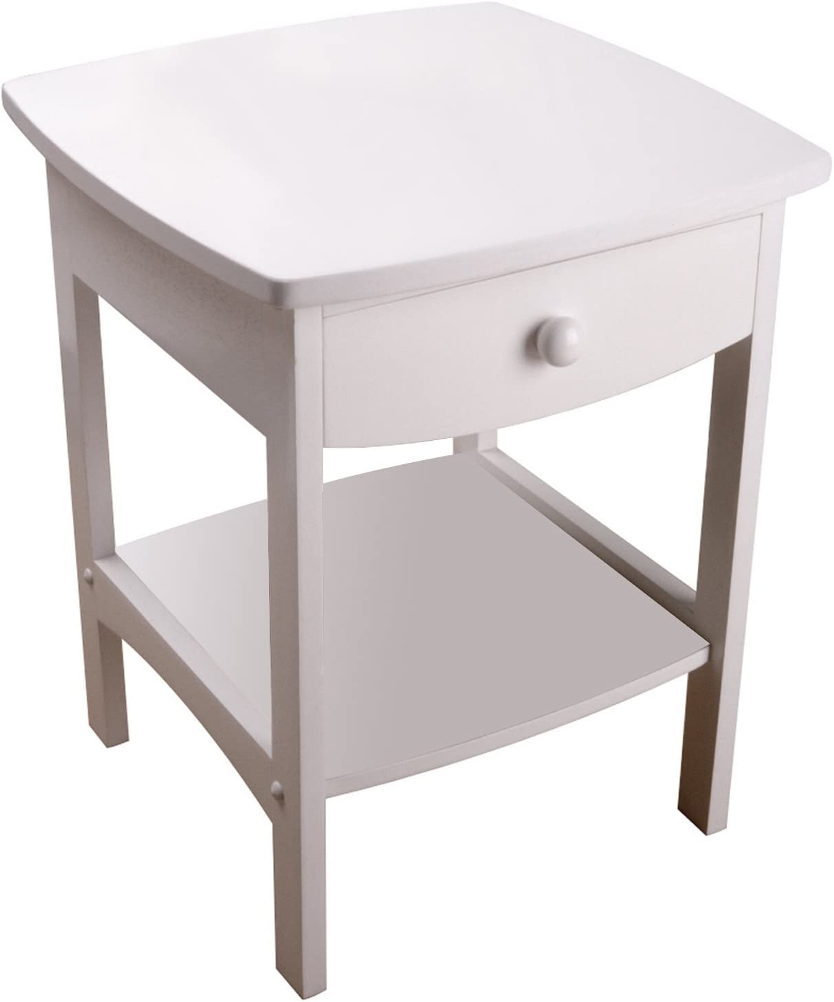 Winsome Wood Claire Accent Table, White