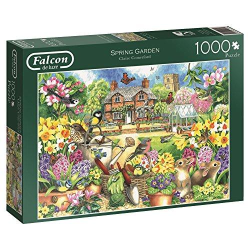 Jumbo Spring Garden Jigsaw Puzzle (1000 Piece)