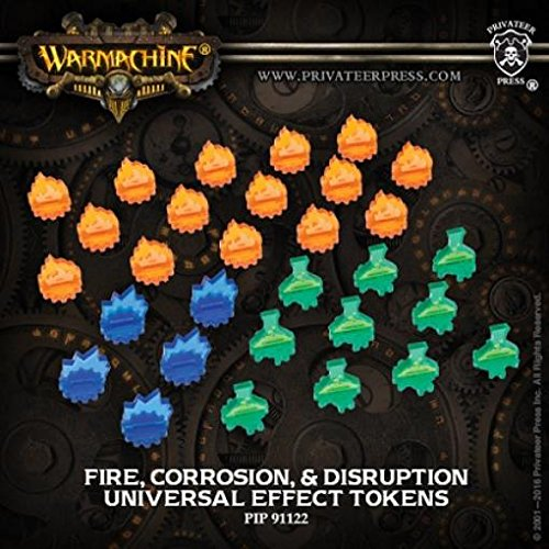 Universal Effect Tokens - Fire, Corrosion, Disruption