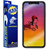 ArmorSuit Apple iPhone XR Screen Protector [Case Friendly], MilitaryShield Case Friendly Screen Protector Compatible with Apple iPhone XR - HD Clear Anti-Bubble