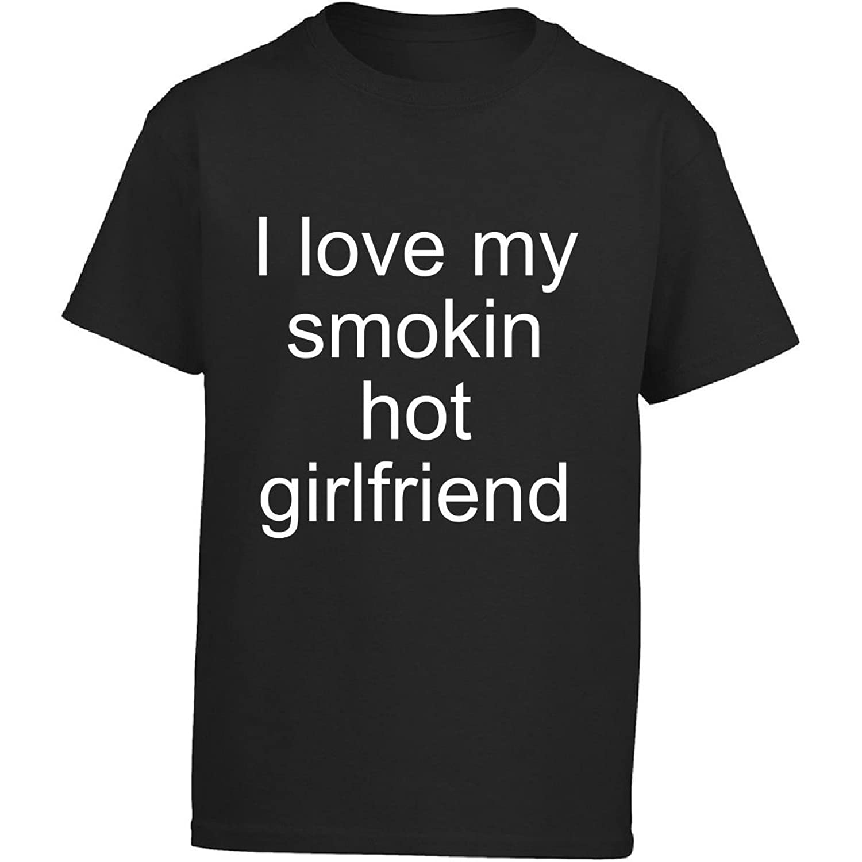 Groovy Gifts For All I Love My Smokin Hot Girlfriend - Girl Kids T-Shirt