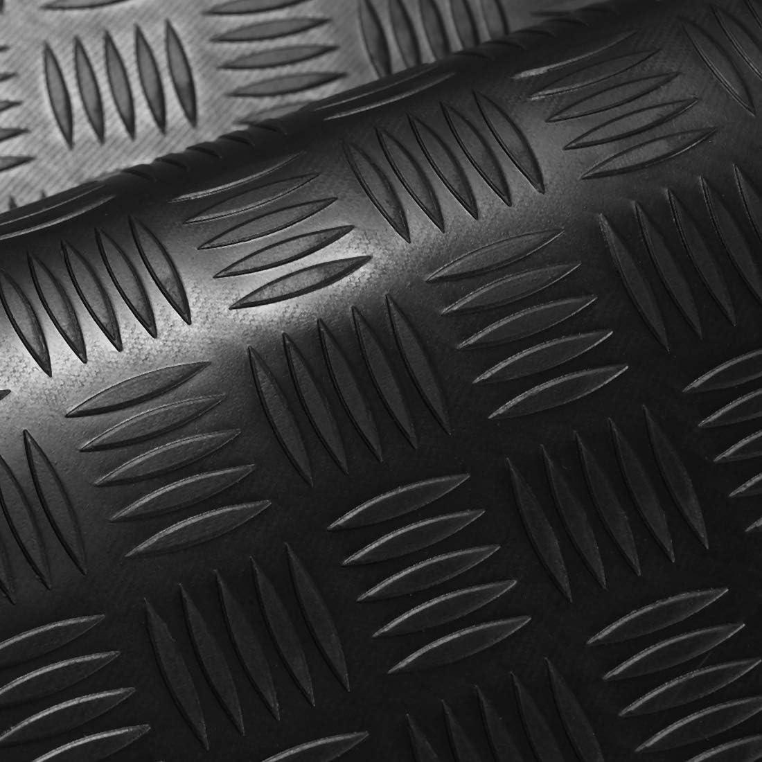 Premium Gummimatte St/ärke 3mm 2m/² Riffelblechmatte 1,60m x 1,25m