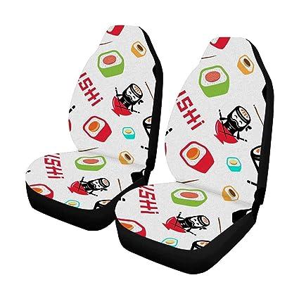 Amazon.es: KLing Japanese Food Sushi Ninja Car Seat Cover ...