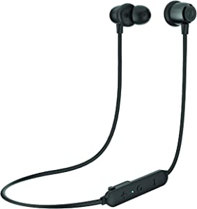 OontZ Angle 3 BudZ Bluetooth Wireless Earbuds - Waterproof Bluetooth Earbuds, Superior Sound with Deep Bass, Noise Cancelling Bluetooth Headset with Microphone, 8 Hour Playtime, IPX7 (Black)