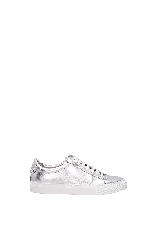 Sneakers Givenchy Urban Street Mujer - Piel (BE0003E036) EU 37.5 EU|Plata
