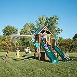 Swing-N-Slide WS 8350 Willows Peak Deluxe Swing Set, Wood