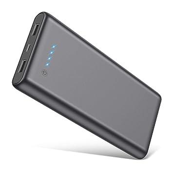 Feob Batería Externa para Móvil, Power Bank 25800mAh Cargador portátil【Puede Tomar el Avion】 Batería de Emergencia 2 Puertos Salidas USB Alta ...