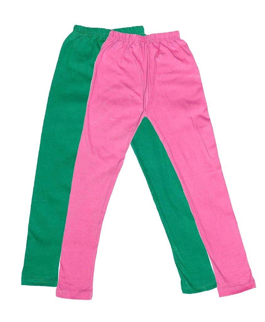 Indistar Kids Super Soft Cotton Leggings Combo 4