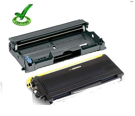 Konver DR-2000 - 2 Unidades Tambor +Toner de impresora sustituye Brother DR2000, DR-2000, DR 2000