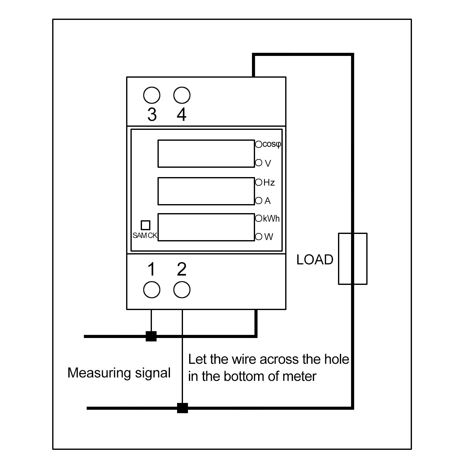 Ct kwh meter wiring diagram efcaviation