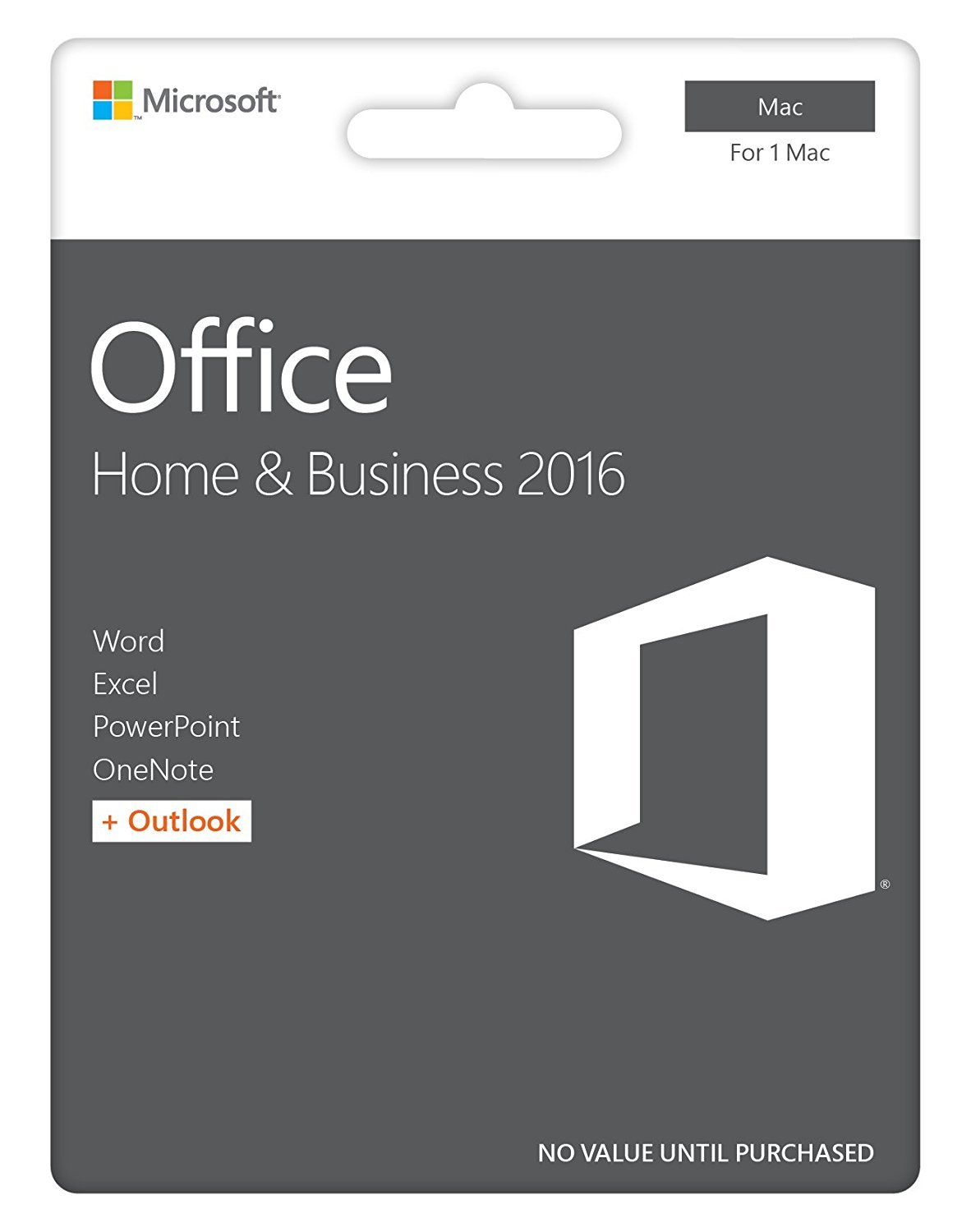 MS Office 2016 Home and Business - New for USA - Boxed Product - for MAC!