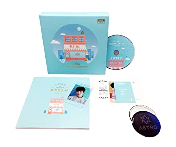 ASTRO 4th Mini Album - Dream Part 01 [DAY ver ] CD + Photobook + Postcard +  Photocard + Transparent Photocard + FREE GIFT / K-pop Sealed