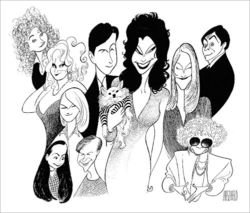 Al Hirschfeld's THE NANNY Hand Signed Limited Edition Lithograph by AL HIRSCHFELD