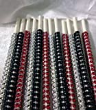 50 shades of red - Fifty Shade of Grey Inspired Specialty Bling Cake Pop Sticks - Red, Silver & Black Glam for Lollipops, Cake Pops and All Things Party - Bling Sticks 6