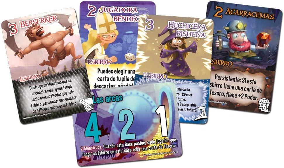 Smash Up - Munchkin, juego de cartas (Edge Entertainment EDGSU07) , color/modelo surtido: Amazon.es: Juguetes y juegos