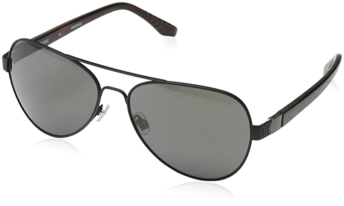 SPINE Lunette de soleil SP4001 001 Aviator - Black/Grey Lens