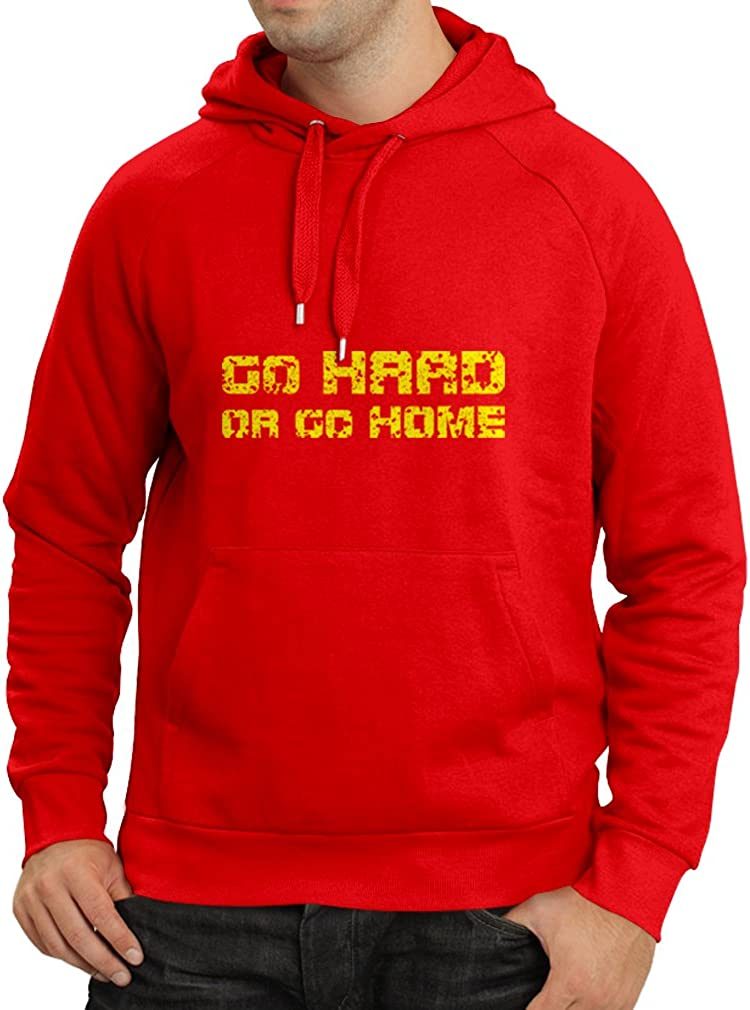 Sayings for Motorcycle for Roller Riders for Skate for Bike lepni.me Unisex Hoodie Go Hard or Go Home!