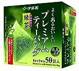 Itoen Ryokucha Green tea Matcha Blend Premium bag Pack of 50